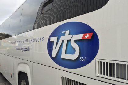 Réalisation du site VTS Voyages Sàrl
