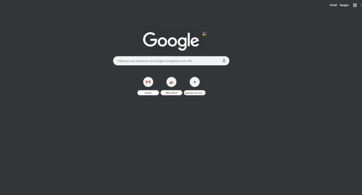 """Comment mettre Google en """"Dark mode"""" (mode sombre)"""