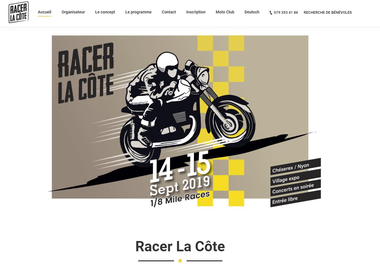 Racer La Côte