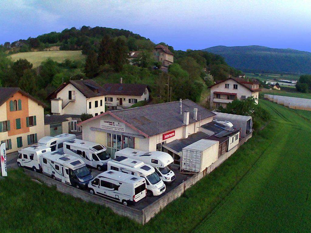 Réalisation du site Campingcar Service