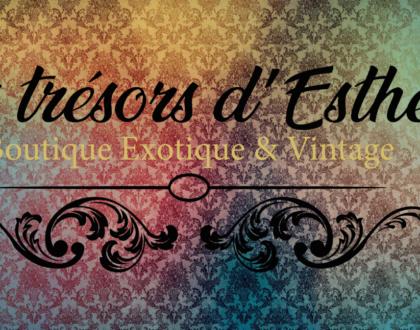 Réalisation du site Les Trésors d'Esther